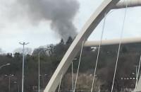 Dym w okolicy Góry Gradowej