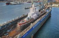 Remont ORP Błyskawica w Stoczni Marynarki Wojennej