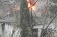Pożar pustostanu w Gdańsku