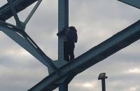 Próba samobójcza na Zaspie. Trwają negocjacje