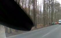 Mercedes AMG na drzewie