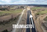 Z Kaszub do Trójmiasta. Nasz dron nad Trasą Kaszubską
