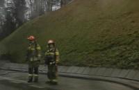 Korek po pożarze samochodu