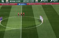 Minuta ciszy na meczu Lechia-Piast