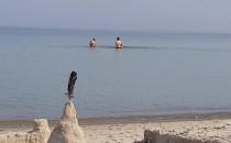 Niedzielne kąpiele w zatoce