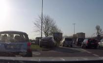 Kolizja na drodze do Gdyni