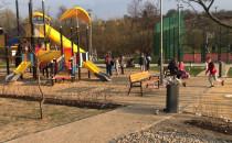 Płac zabaw za Parkiem Oruńskim dzisiaj...