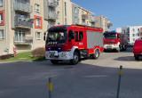Straże pożarne na ul. Kołodzieja