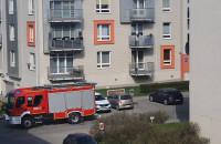 Akcja strażaków na Ujeścisku