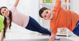 Ćwiczenia korekcyjne dla dzieci | badania wad postawy | przychodnia Morska
