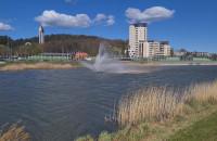 Fontanna na zbiorniku Srebrniki uruchomiona