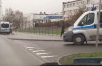 Kibice i dużo policji na Marynarki Polskiej