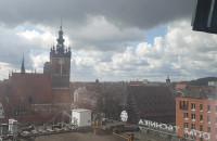 Niespodziewane opady śniegu w Gdańsku