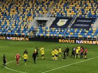 Arka Gdynia - Stomil Olsztyn 2:0. Daniel Kajzer