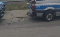Policja pod dworcem we Wrzeszczu