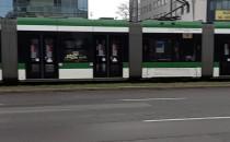 Tramwajowy korek przy al. Grunwaldzkiej