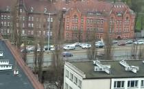 Korki w centrum Gdańska