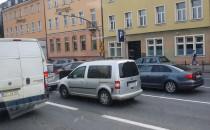 Duży ruch w centrum Gdańska