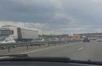 Duży korek na obwodnicy w stronę Gdyni