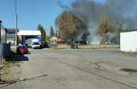 Ulica Litewska pożar