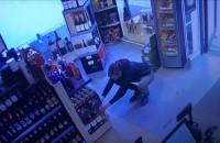 Kradzież w osiedlowym sklepie