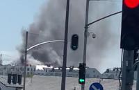 Pali się na Łostowicach