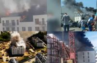 Pożar na Niepołomnickiej - filmy czytelników