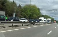 Ogromny sznur samochodów w stronę Gdańska