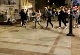 Wspólne tańce na Monciaku