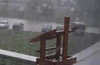 Deszczyk sobie pada na Zakoniczynie