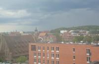 Burzowe chmury nad Gdańskiem