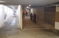 Dwa tunele w tunelu na dworcu w Gdańsku