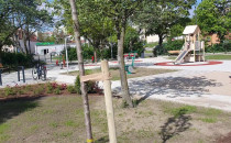 Plac zabaw na Chełmie praktycznie gotowy