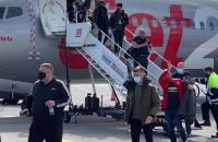 Kibice Manchesteru przylecieli do Gdańska