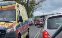 Wypadek na Jabłoniowej i już korek