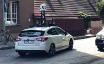 Auto Apple Maps w Gdyni