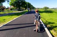 Nowa ścieżka rowerowa na Wyspie Sobieszewskiej