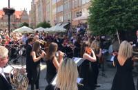 Flash mob - Filharmonii Bałtyckiej na Długiej