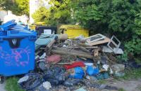 """""""Segregacja"""" śmieci na Chełmie"""