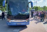 Przyjazd reprezentacji Polski do hotelu w Sopocie