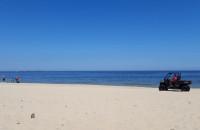 Jeżdżenie po plaży