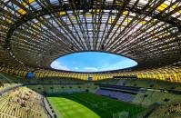 Trwa trening Polaków na stadionie