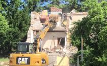 Burzenie budynku po lecznicy dla zwierząt...