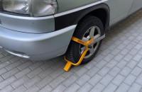 Blokada na kole i kierownicy - ochrona przed złodziejem