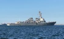 USS Roosvelt DDG80 wszedł do gdyńskiego portu