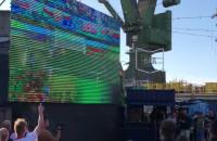 Radość po golu na 1:1 w meczu Polska vs Słowacja