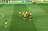 Arka Gdynia - ŁKS Łódź 0:1. Początek meczu