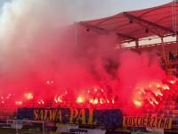 Arka Gdynia - ŁKS Łódź 0:1. Race