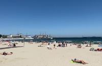 Kto może już na plaży