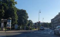 Chłodna mgiełka przy Baszcie Jacek w Gdańsku